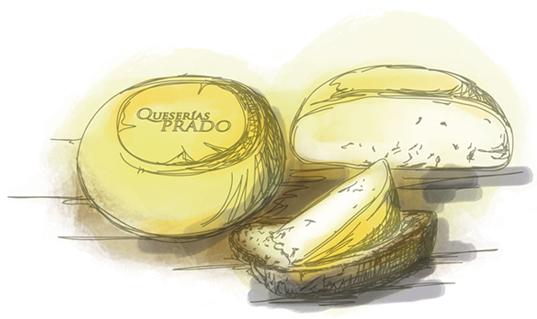 Queso Gallego Queserías Prado